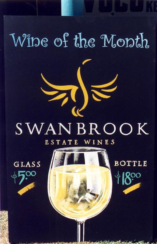 Wine of the month Chalk Board Swanbrook Estate Wines-6